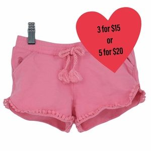 Pink shorts girls size 4 (4 years old)